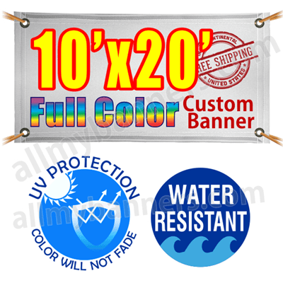 10x20 Custom banners product image
