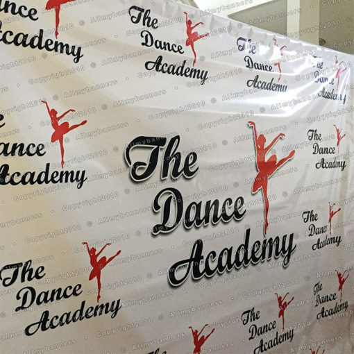 Backdrop Red Carpet banner the dance accademy example