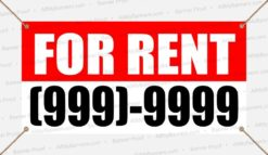For Rent Custom Banner