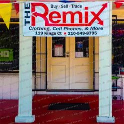 Store Front banner Remix Store